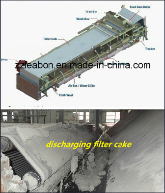 2016 New Vacuum Rubber Belt Filter Press
