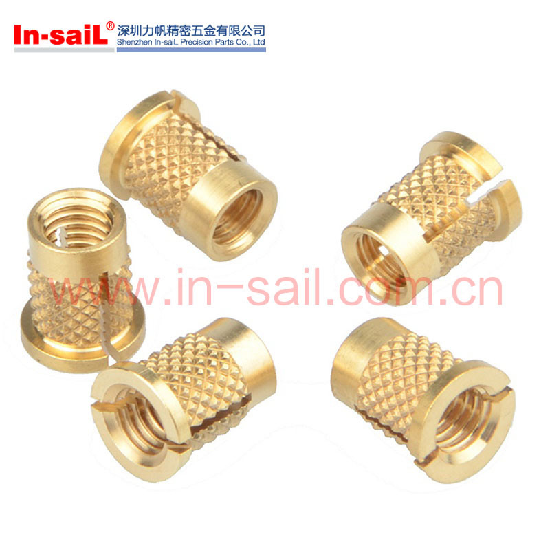 Flanged Threaded Inserts for Plastic Material