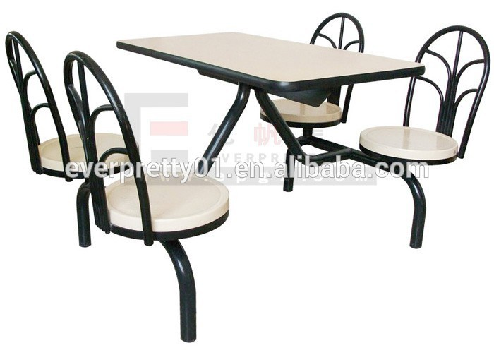 Restaurant Furniture/Restaurant Tables and Chairs/Fire Resistant Restaurant Table and Benches
