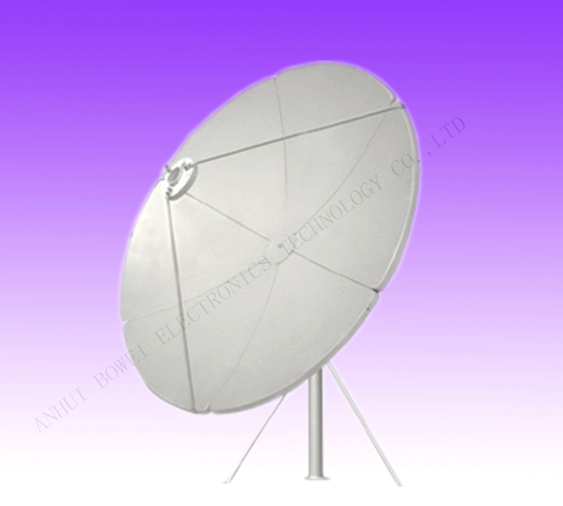 4 6 8 10 12 20feet 1.5 1.8 2.4 3 3.7 4 5m C Band Satellite TV Digital HD Parabolic Paraboloid Outdoor Dish Antenna