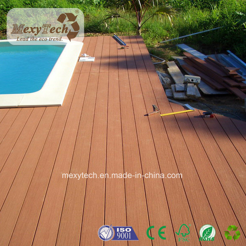 2017 Hot Sale Wooden Flooring Wood Plastic Composite WPC Decking