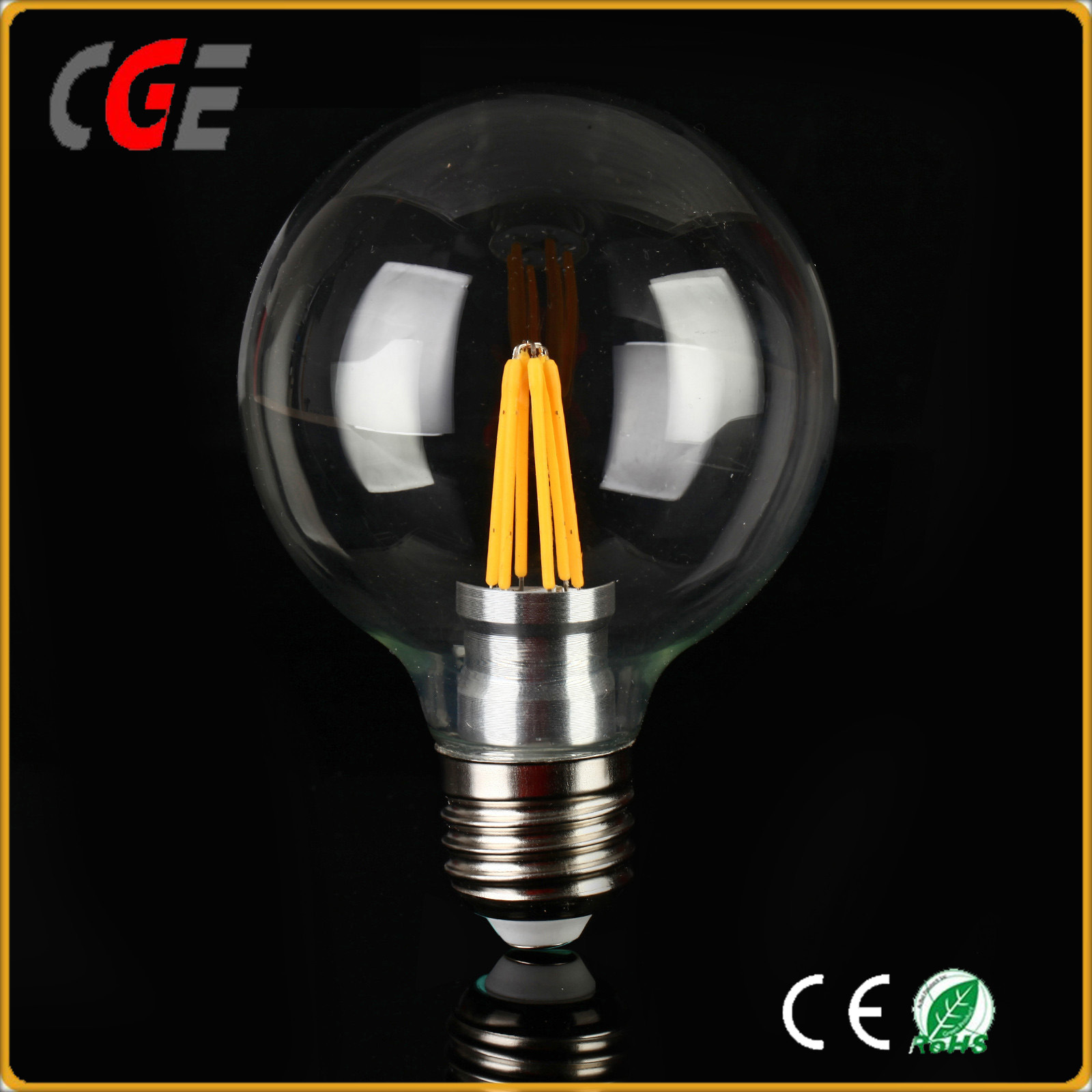 G80 Edison 4W/6W E27 E26 B22 Filament LED Bulb Light