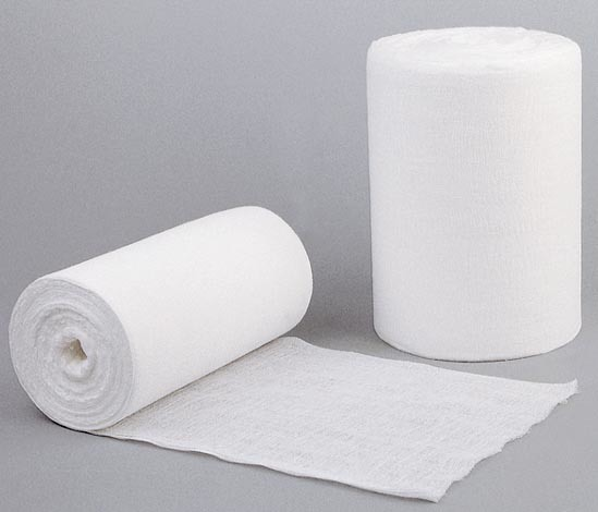 Medical 100% Cotton Absorbent Gauze Roll