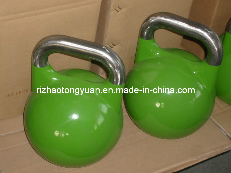 Spray Painted Competition Kettlebell