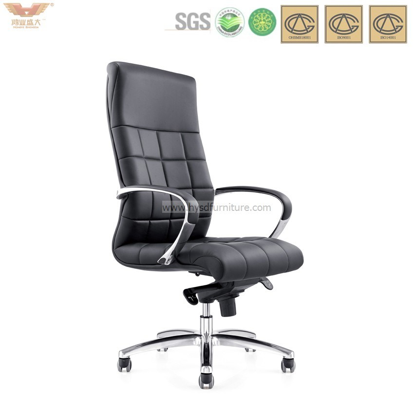Hot Sale Modern Leather Office Chair with Armrest
