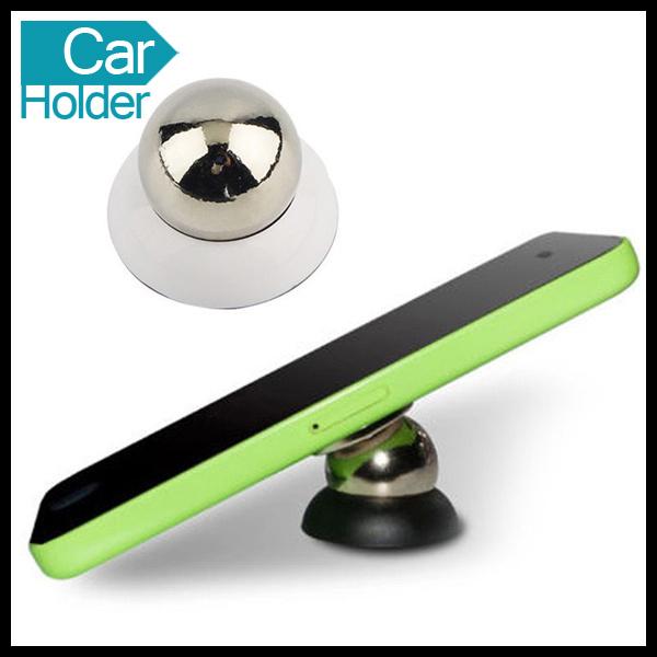 Universal 360 Degrees Magnetic Car Mobile Cell Phone Holder
