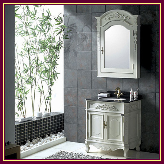 china solid wood bathroom cabinet vanity unit bathroom vanity k 6016 china classic. Black Bedroom Furniture Sets. Home Design Ideas