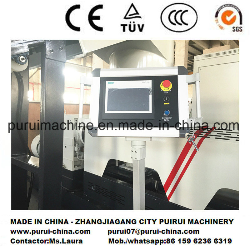 Plastic Recycling Pelletizing Machine for Washed HDPE LDPE Film