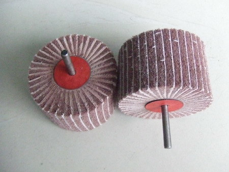 Non-Woven Flap Wheel with Spindle