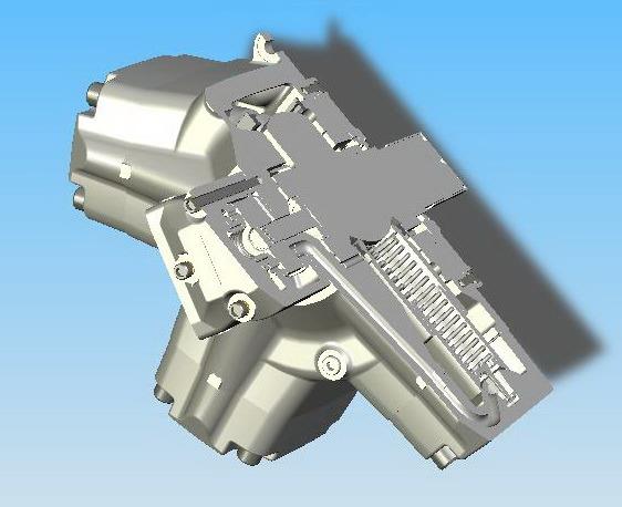 China Radial Piston Hydraulic Motor China Hydraulic