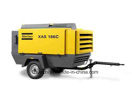 Atlas Copco 410cfm Portable Diesel Air Compressor