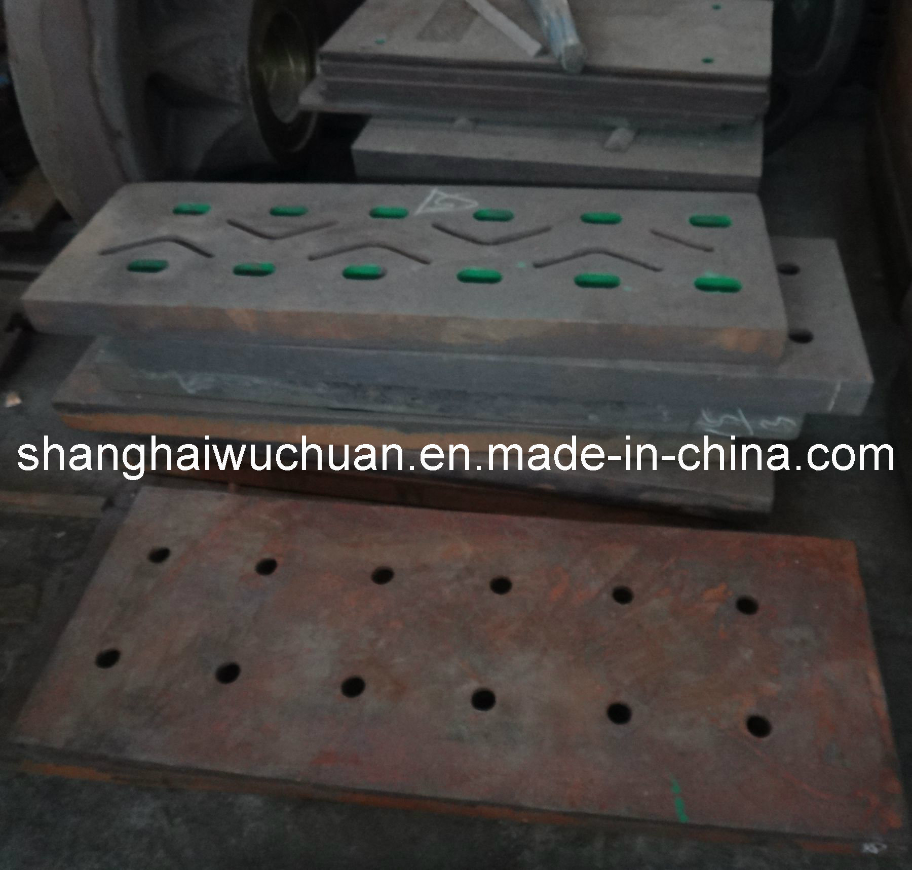 Manganese Shredder Hammer, Metal Crusher Parts