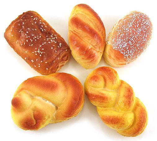 Fake bread crafts for Artificial bread decoration