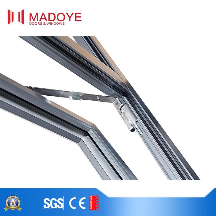 High-Quality Aluminum Frame Casement Window and Sliding Window