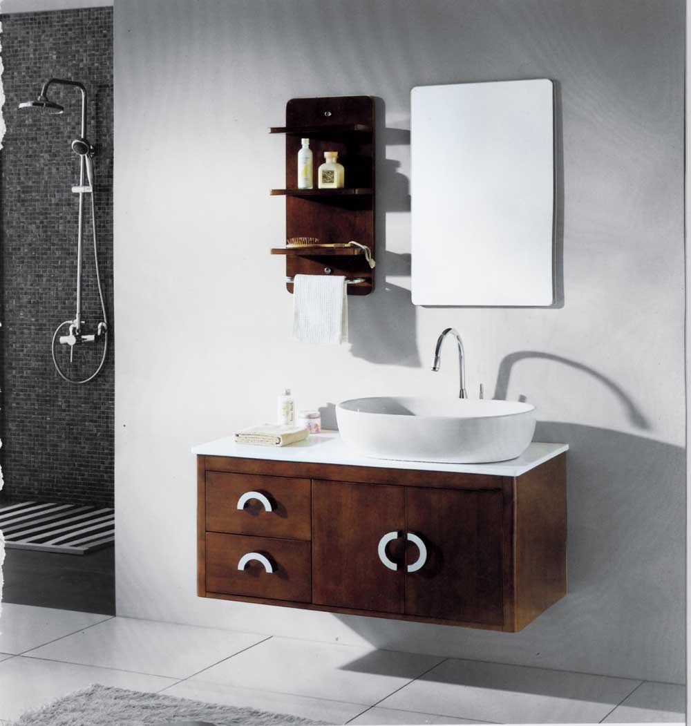 China bathroom cabinet bathroom furniture ms 8407 for Bathroom furniture design ideas