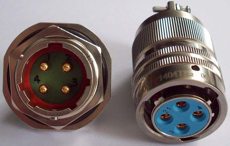 Military Multipol Circular Electric Connectors