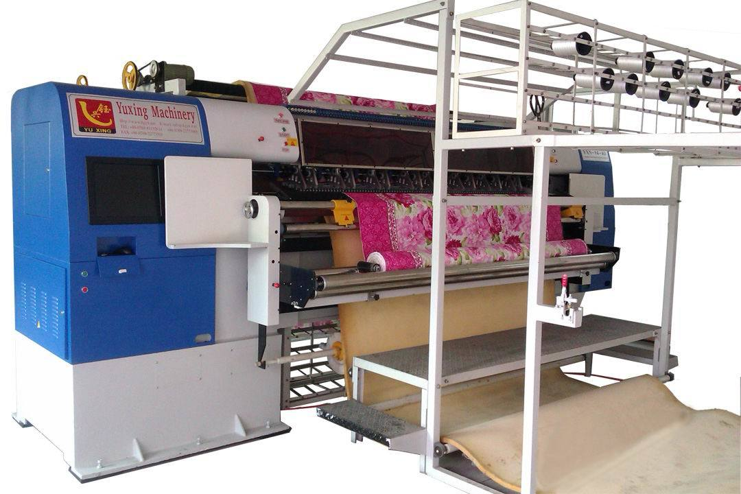 Industrial Non Shuttle Multi Needle Quilting Machine (YXN-94-4C)