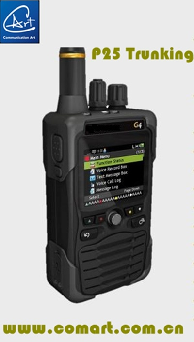 Digital Fire Voice Pager Supporting P25 Conventional /Trunking, /Dmr/ Analog Mode