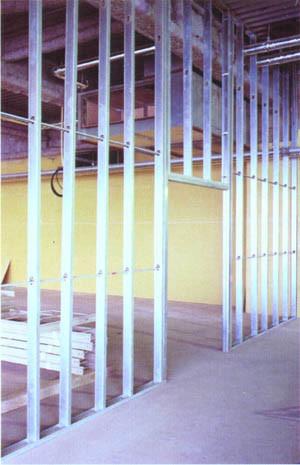 Gypsum Drywall Wall Galvanized Steel Profiles