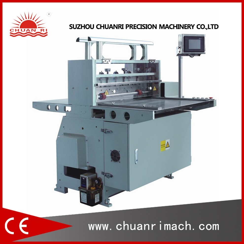 Automatic Best Price Plastic Film, Foam Tape, Label Paper Roll to Sheet Cutting Machine