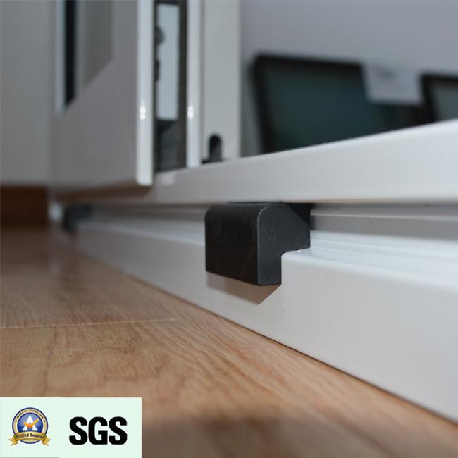 White Colour Powder Coated Aluminum Sliding Window K01060