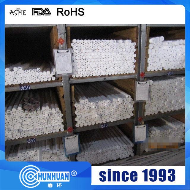 PTFE/Teflon Moulding Moulded Rods, Round Bar, Plastic Rods