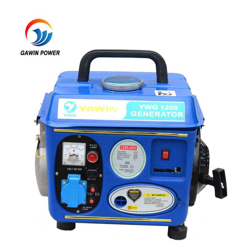 650W High Quality Silent 2 Stroke 950 Gasoline Generator