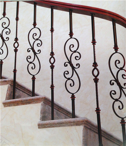 European and American Style Fashion Wrought Iron Railing