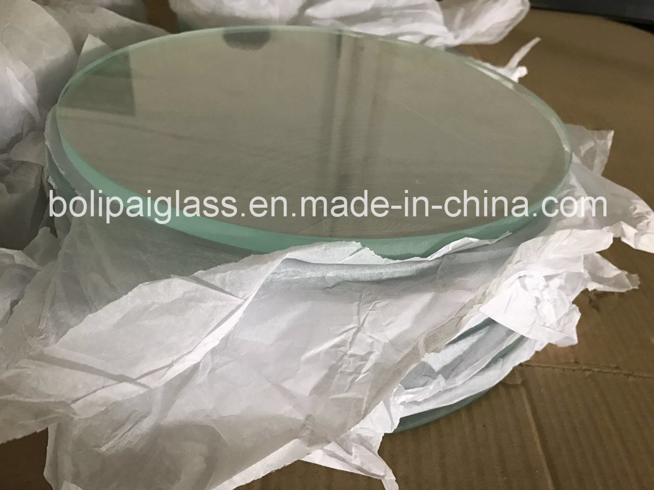 Tempered Ultra Glass Light Cover/Lighting Glass