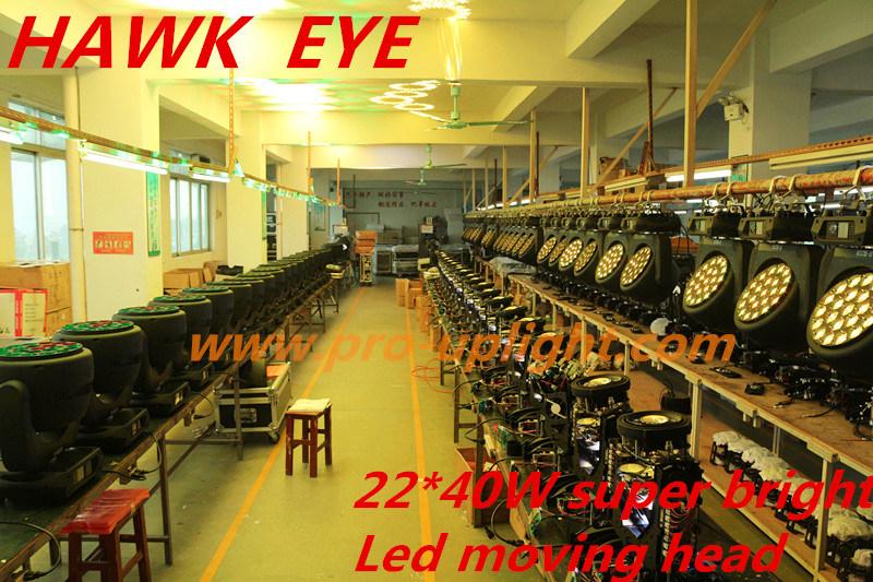 Hawk Eye 22*40W RGBW 4in1 B-Eye K10 LED Moving Head