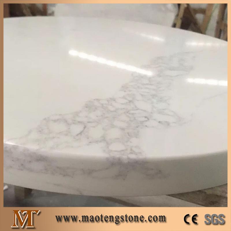 Solid Surface Engineered Quartz Stone