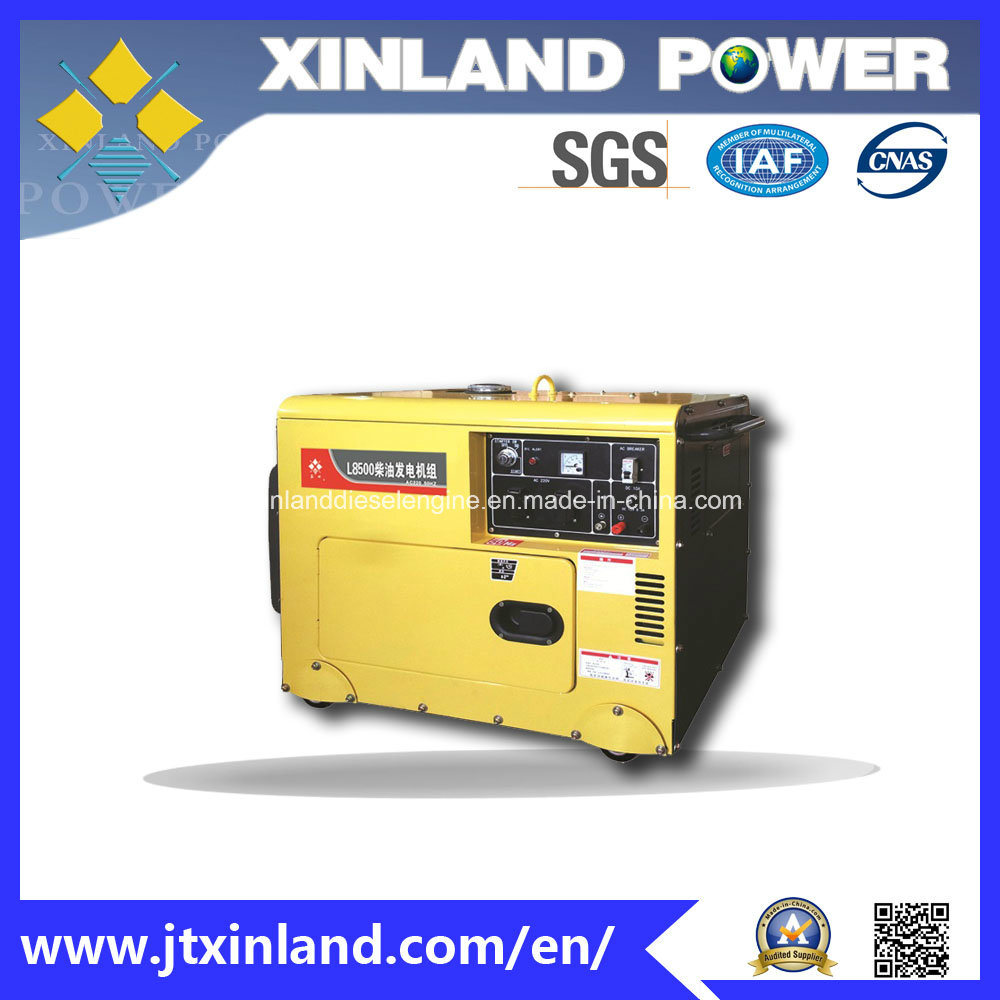 Single or 3phase Diesel Generator L8500s/E 60Hz with ISO 14001