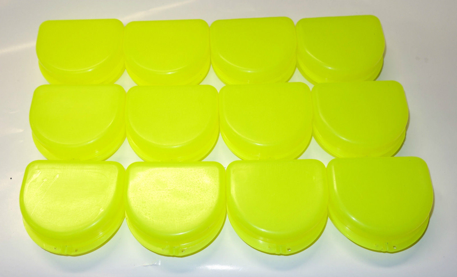 Dental Orthodontic Denture Mouth Guard Case Bleach Tray Box