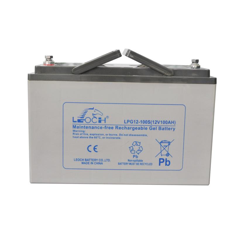 12V 100ah Deep Cycle Solar Battery for Solar Systems