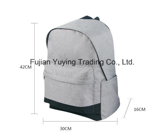 Grey Multifunction Double Shoulder Mom Bag