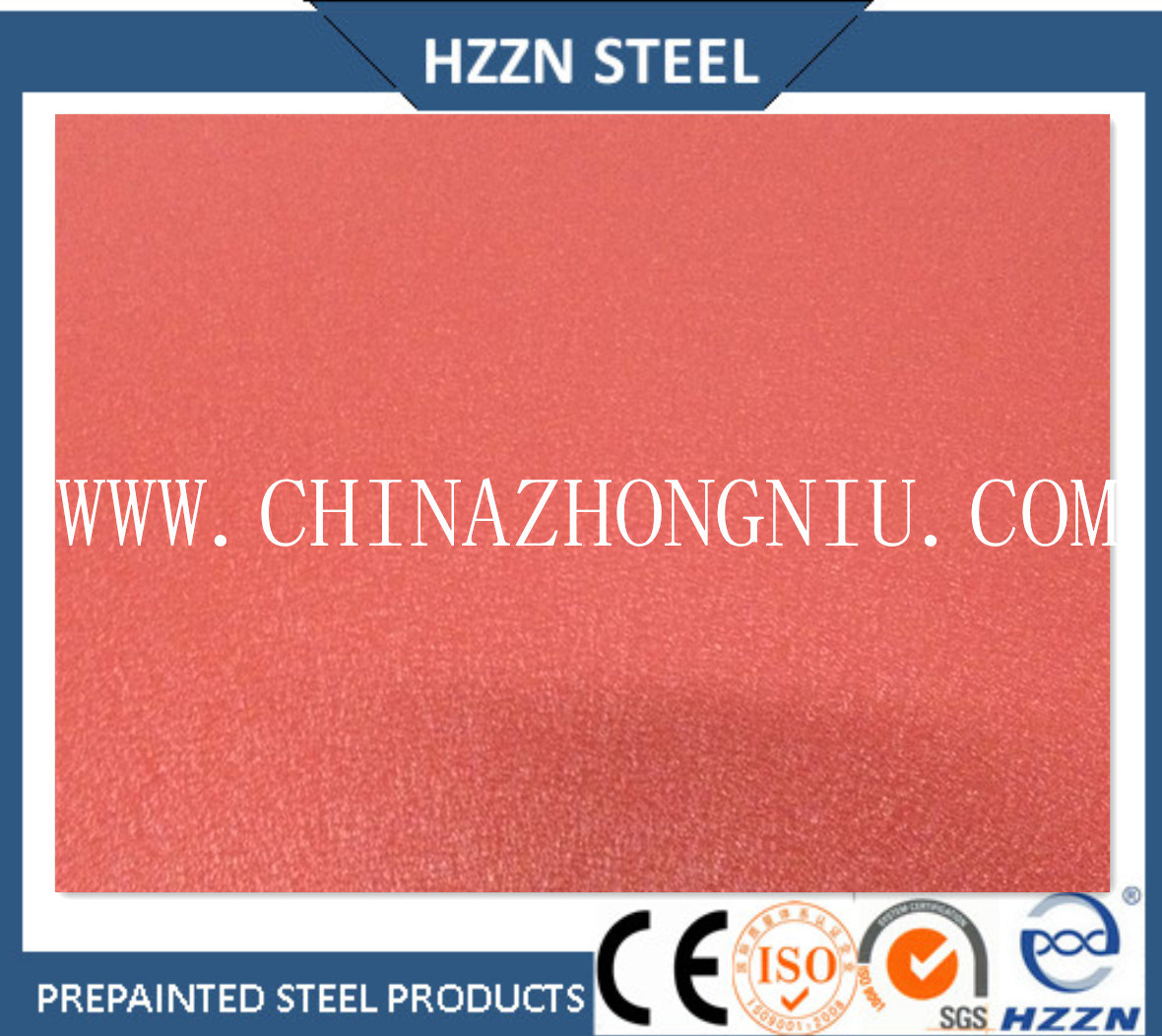 Prepainted PPGI Color Coated Steel Coil