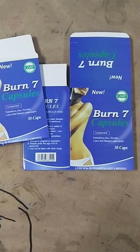 Nature Herbal OEM Private Lables Slimming Product Burn 7