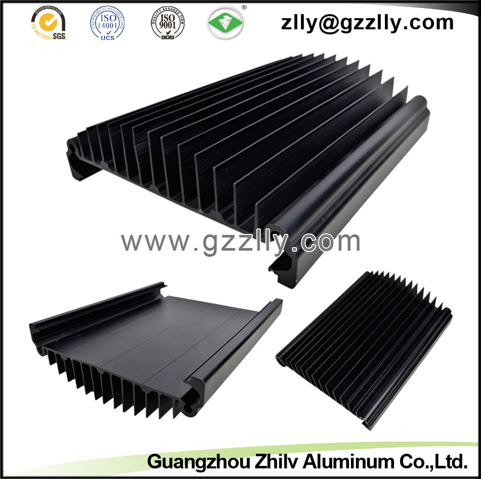 Building Material Guangzhou Supplier Aluminum Extrusion Heatsink
