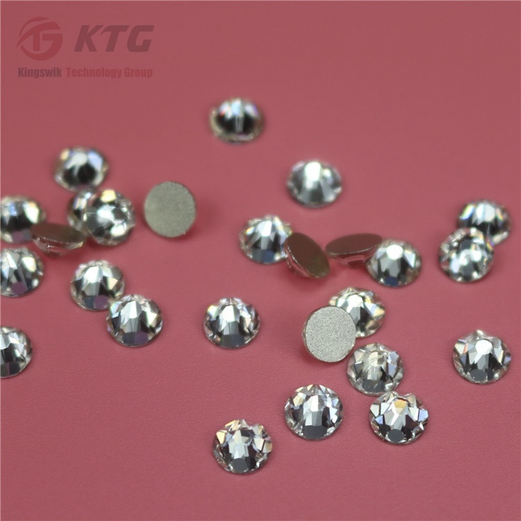 China Manufacturer Ab Hot Fix Loose Rhinstone Iron-on Hot Fix Rhinestone Strass