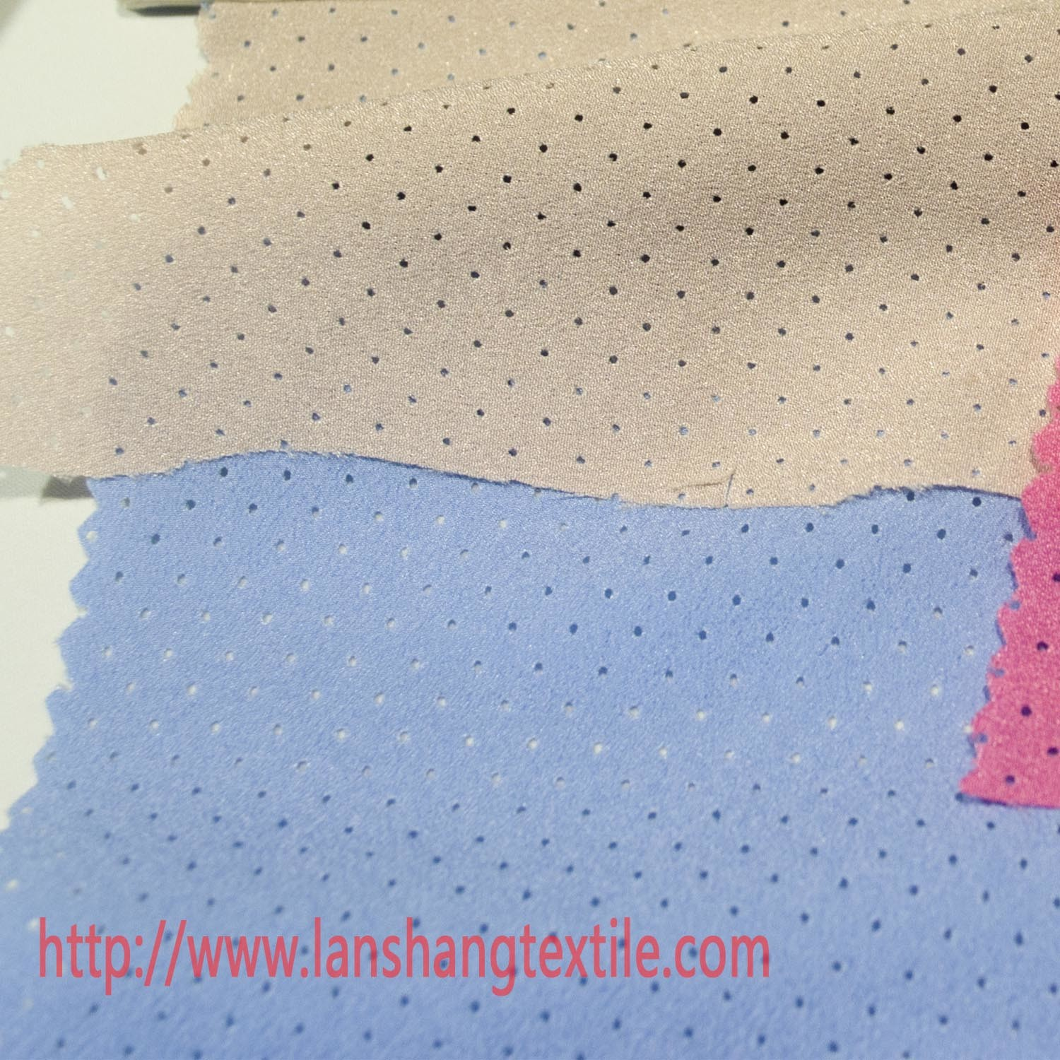 Polyester Fabric Dyed Fabric Chemical Fiberb Perforated Fabric for Woman Dress Coat Children Garment Home Textile