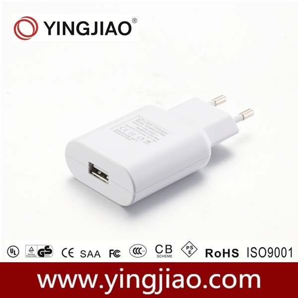 10W USB Universal Charger with Ce/EMC/ERP/RoHS Compliance