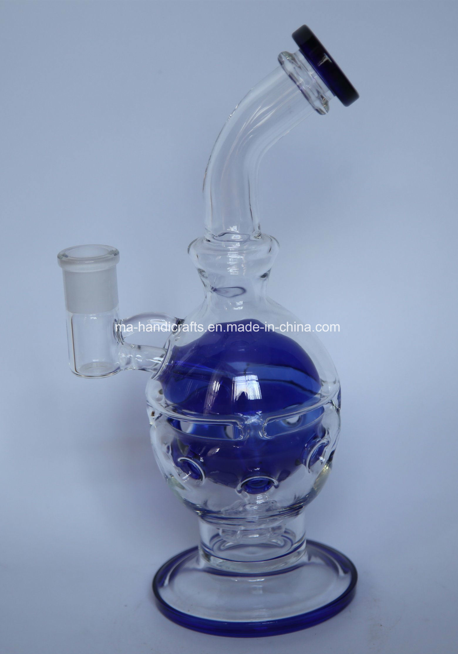 "12"" Mothership Glass Water Pipes Faberge Egg"