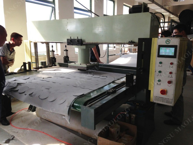 Hot Abrasive Paper Automatic Die Cutting Machine