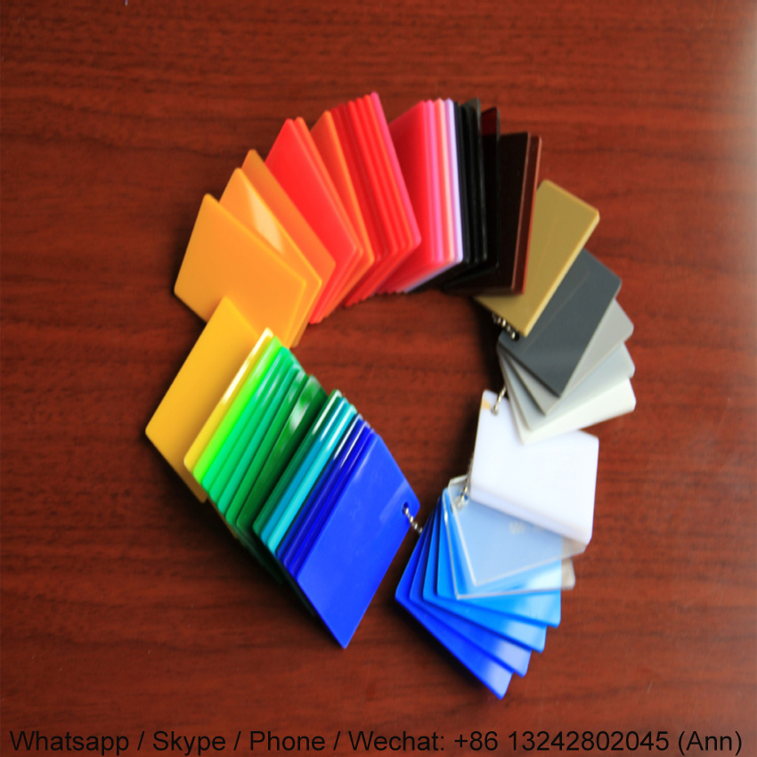 Colorful Extruded Plexiglass Acrylic Sheet