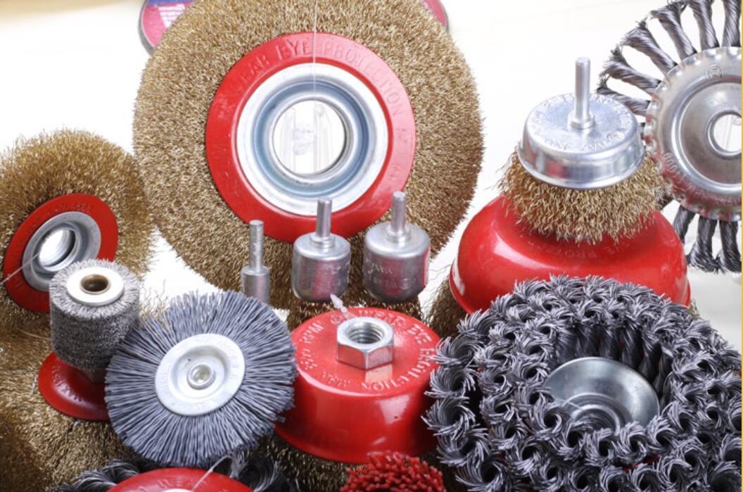 Crimped Wire Bench Grinder Brushes (WB-002)