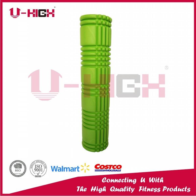 14*61cm Foam Roller Fitness Equipment Lengthen Style Filled Roller