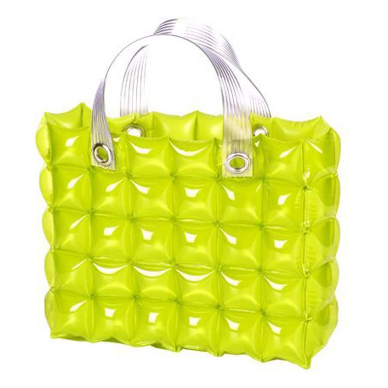 PVC Inflatable Bubble Hand Bag for Beach or Shopping