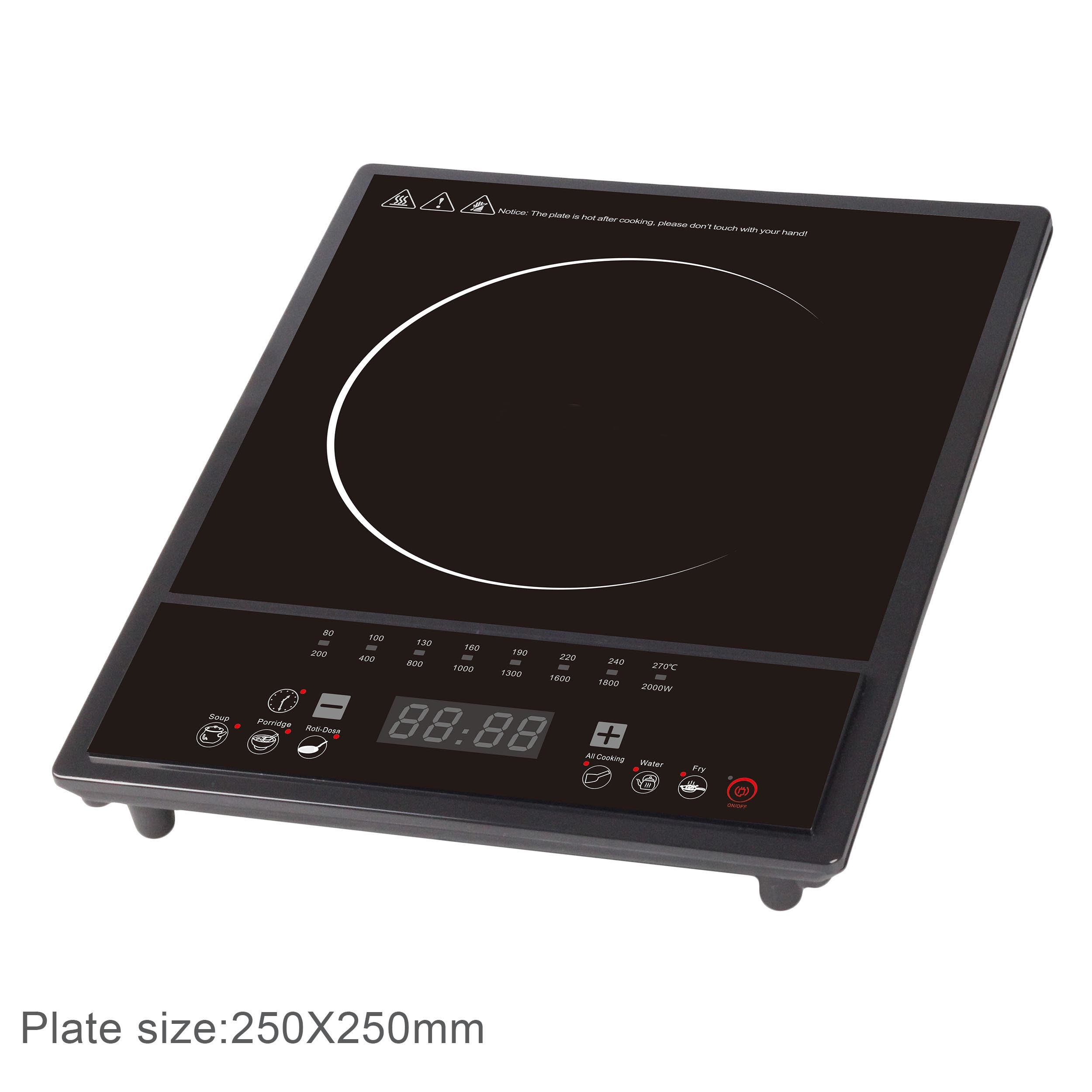 2000W Supreme Induction Cooker with Auto Shut off (AI45)