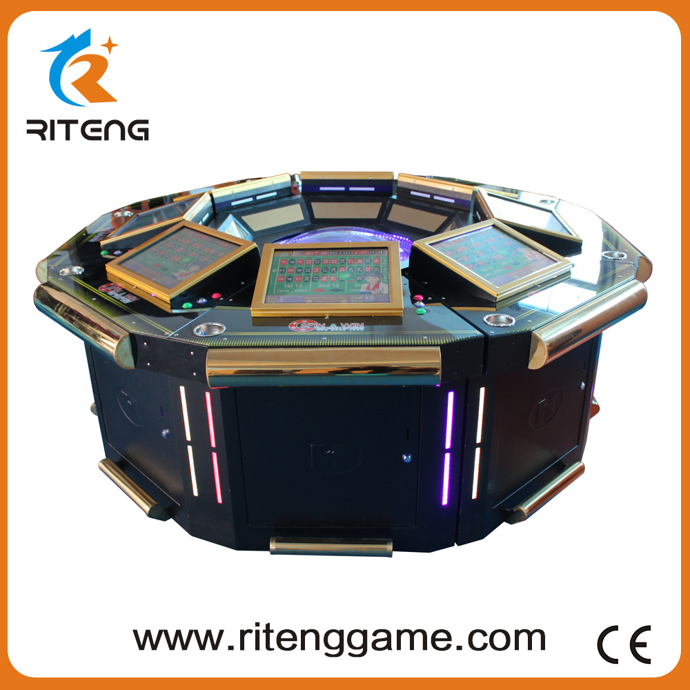 Coin Operated Slot Gambling Electronic Roulette Arcade Machine
