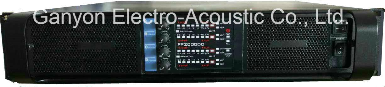 Fp20000q Big Power Switch Amplifier for Subwoofer & Line Array